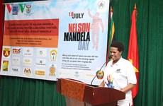 Célébration de la Journée internationale Nelson Mandela