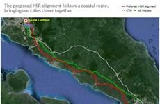 Singapour et Malaisie signent un Protocole d'accord sur un projet ferroviaire