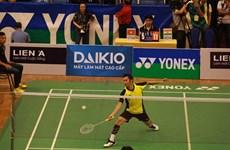 Abandon de Tiên Minh au Yonex Sunrise Vietnam Open 2016