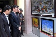 Expo sur les beaux-arts contemporains Vietnam-République de Corée