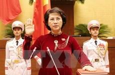 AN de la 14e législature : Mme Nguyen Thi Kim Ngan élue présidente de l'Assemblée nationale