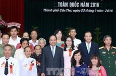 Conférence nationale des personnes méritantes à Can Tho