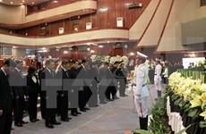 Des dirigeants vietnamiens aux funérailles de l'ancien président de l'AN laotienne Saman Vinhaket