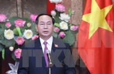Le président Tran Dai Quang souligne les missions de son mandat