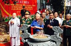 Monument commémoratif des soldats tombés au Cambodge