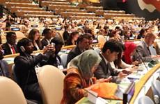 Trois étudiants vietnamiens au forum mondial de la jeunesse 2016