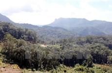 Aide de la JICA pour le développement de la Réserve mondiale de biosphère de Lang Biang