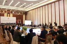 Conférence des ministres de l'Economie du Sommet d'Asie de l'Est au Laos