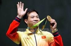 Hoang Xuan Vinh remporte la première médaille d'or aux JO pour le Vietnam