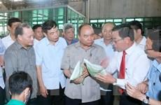 Le PM se renseigne sur l'édification de la Nouvelle Ruralité à Thai Binh