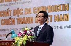 Unis pour remédier aux séquelles de l'agent orange au Vietnam