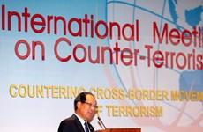 Conférences anti-terroristes en Indonésie