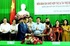 Aide de la Fondation Dariu à des projets de développement de Cân Tho