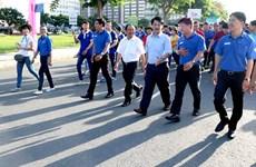 Des milliers de jeunes marchent en faveur des élèves et étudiants en difficulté