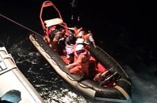 Un marin singapourien sauvé en mer au large de Da Nang