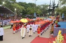 Quang Tri : pèlerinage de La Vang 2016