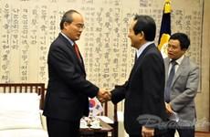Le président du CC du Front de la Patrie en République de Corée