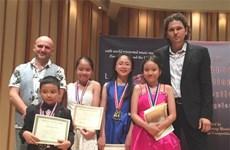 Le Vietnam remporte 22 prix au Festival international de musique Lansum 2016