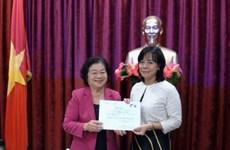 L'ex-vice-présidente Truong My Hoa en visite en Slovaquie