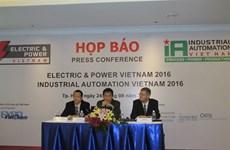 Salon international de l'électricité et de l'automatisation industrielle 2016