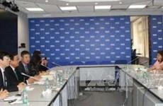 Une délégation de la Commission centrale de Propagande et de l'Éducation en visite en Russie