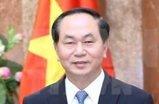 Interview du président Tran Dai Quang accordée à l'AFP avant la visite de son homologue français