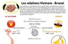 Les relations Vietnam - Brunei en infographie