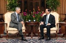 Déclaration de presse conjointe Vietnam-Singapour
