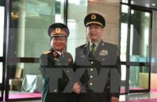 Entretien entre les ministres vietnamien et chinois de la Défense