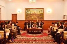 Une délégation du PCV en visite au Cambodge