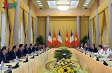 Déclaration commune Vietnam-France