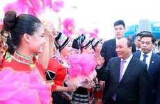 Le PM Nguyen Xuan Phuc est arrivé à Nanning pour commencer sa visite officielle en Chine