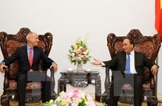 Le chef du gouvernement reçoit le directeur général du groupe Indochina Capital