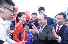 CAEXPO 2016 : le PM Nguyen Xuan Phuc assiste à la cérémonie d'inauguration des stands vietnamiens