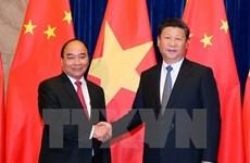 Entrevue Nguyen Xuan Phuc - Xi Jinping