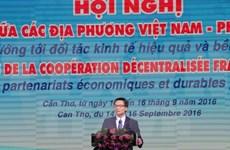 Ouverture des 10e Assises de la coopération décentralisée franco-vietnamienne