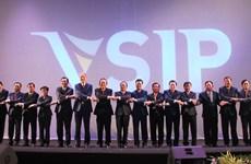 Célébration du 20e anniversaire de la fondation du Parc industriel Vietnam-Singapour