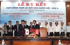 Transformation de bois: lancement d'un projet japonais de 5 millions de dollars à Binh Dinh