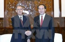 Le chef de l'État vietnamien reçoit l'ambassadeur marocain