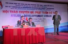 Coopération décentralisée franco-vietnamienne dans l'urbanisation et le patrimoine