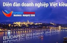 10e Forum d'affaires des Viet kieu européens en Hongrie
