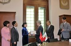 Mexico prête à établir des relations avec Ho Chi Minh-Ville