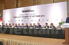 L'exposition internationale d'automobiles (VIMS 2016) prévue pour octobre à HCM-Ville