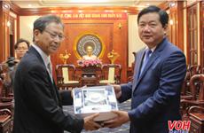 Des dirigeants de Ho Chi Minh-Ville reçoivent l'ambassadeur du Japon