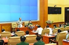 Le chef du gouvernement travaille avec le ministère de la Défense