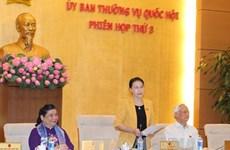 Clôture de la 3e réunion du Comité permanent de l'AN de la XIVe législature
