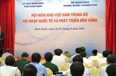 Nam Trung Bô s'oriente vers l'intégration internationale et le développement durable