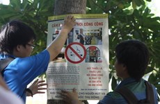 La cigarette passée à tabac lors d'un colloque à Hanoi