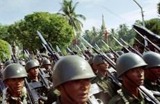 Le Myanmar procède à une manœuvre militaire conjointe