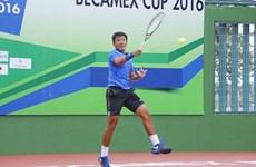 Men's Futures F5 : le tennisman Ly Hoang Nam remporte deux titres